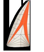 Segelschnitt-triradial