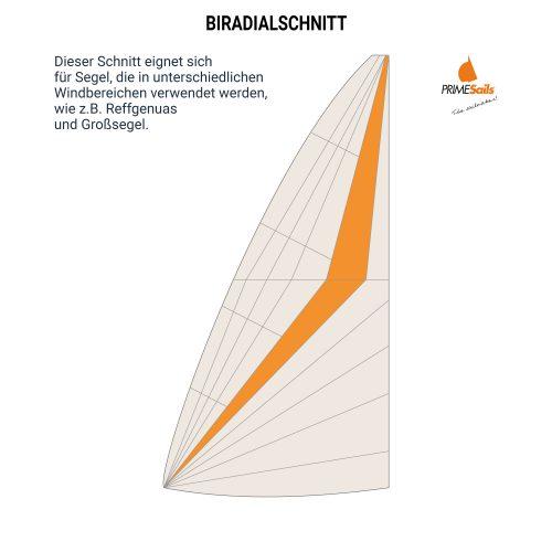 Biradial-Schnitt