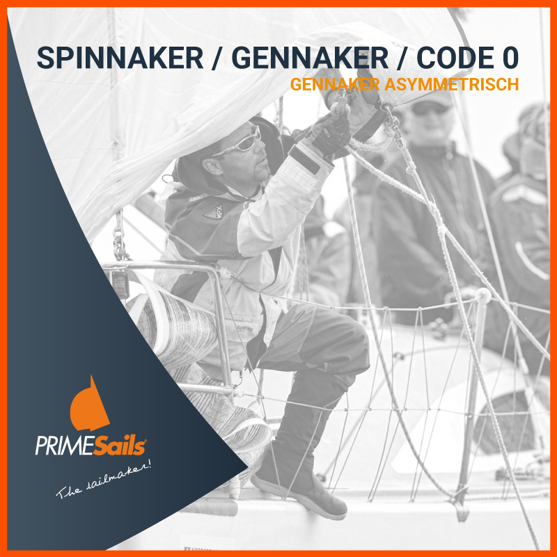 SPINNAKER GENNAKER CODE 0 asymmetrisch