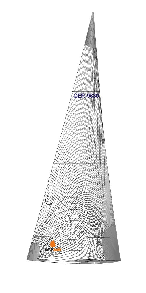 Genua Fock GRAND PRIX RACING / REGATTA PROFI